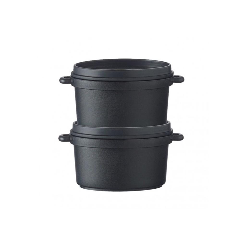 Cocotte ovale noir 6cl