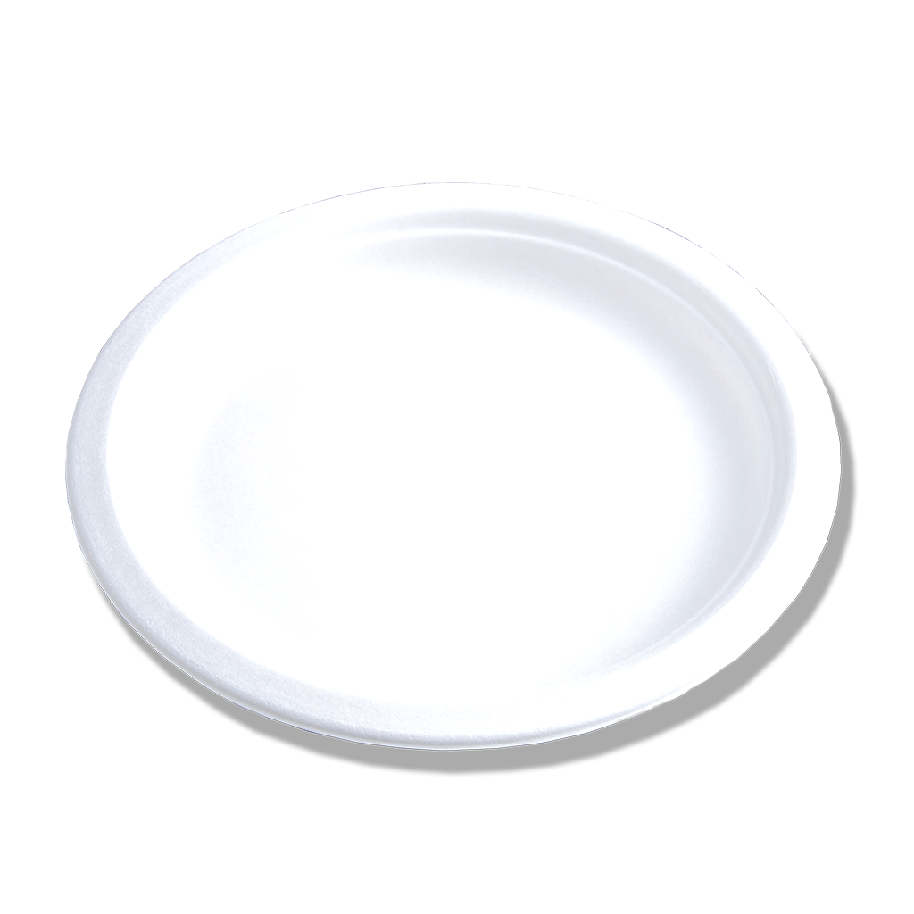 Assiette Bagasse ⌀18