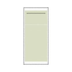 Serviettes NAPKO emballée individuellement - PLA