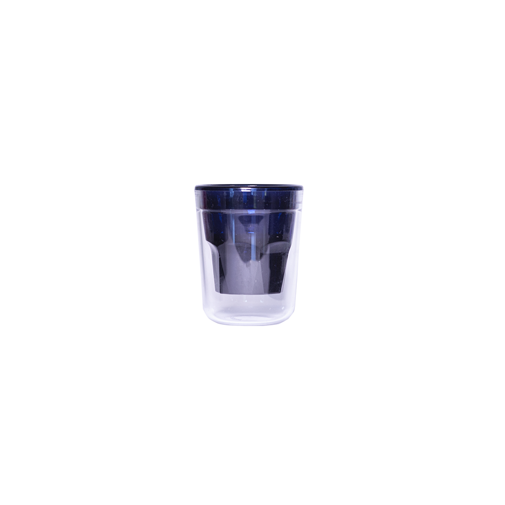 Tasse à café double wall 7cl Noir