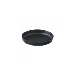 Assiette Santo Noir 120