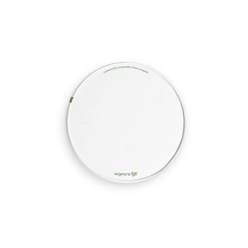 Couvercle blanc PLA/Cellulose pour saladier 1000ml ( U.V. 300pcs )