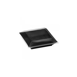 Assiette Cubik Noir 60cl