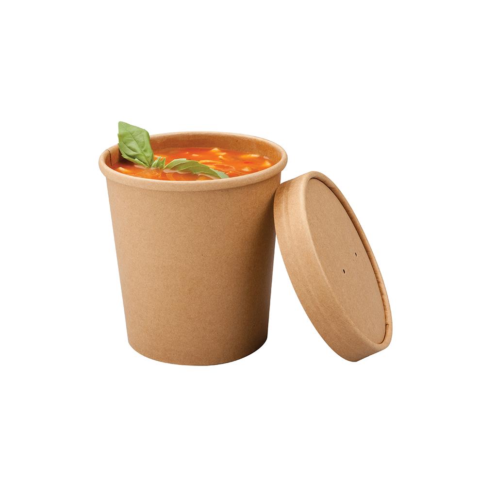 Pot à soupe kraft 750ml