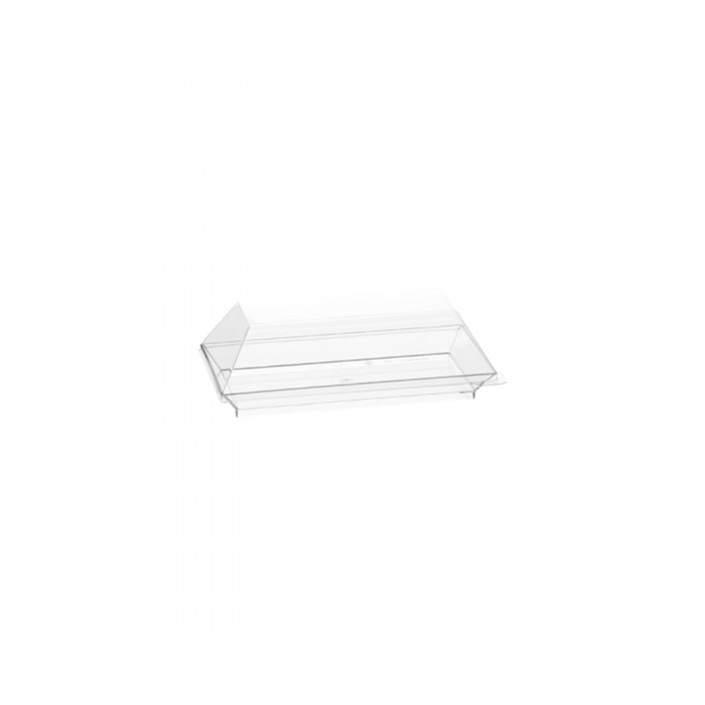 Assiette Cubik Crystal 130x65mm