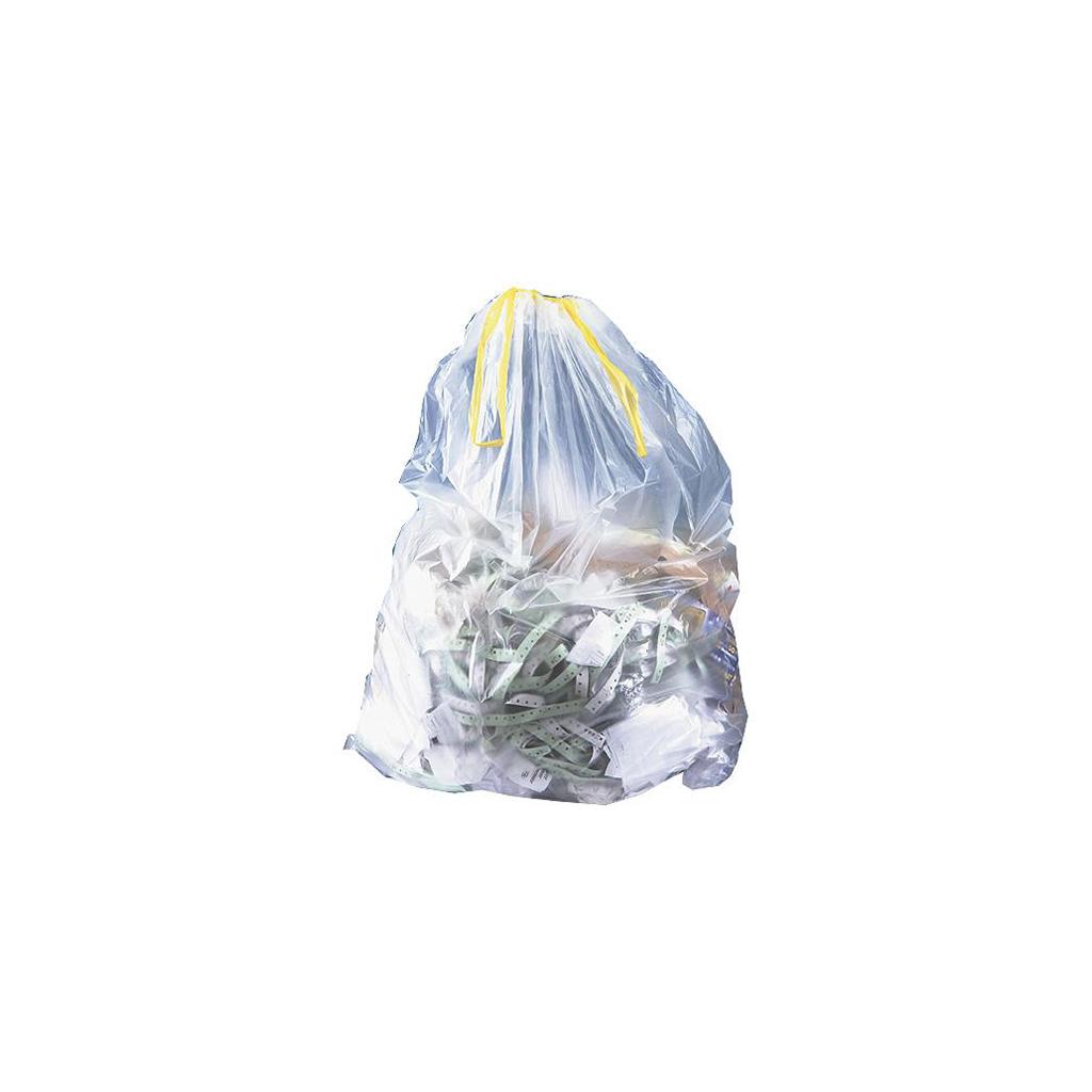 Sacs à déchets 35L transparents