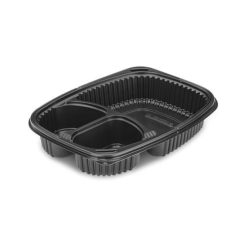 Cookipack 3 compartiments 1250ml ( U.V. 320pcs )