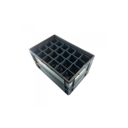 Box EURONORM 600x400xh220mm