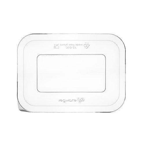 Couvercle transparent PLA pour barquette gourmet V5 ( U.V. 600pcs )