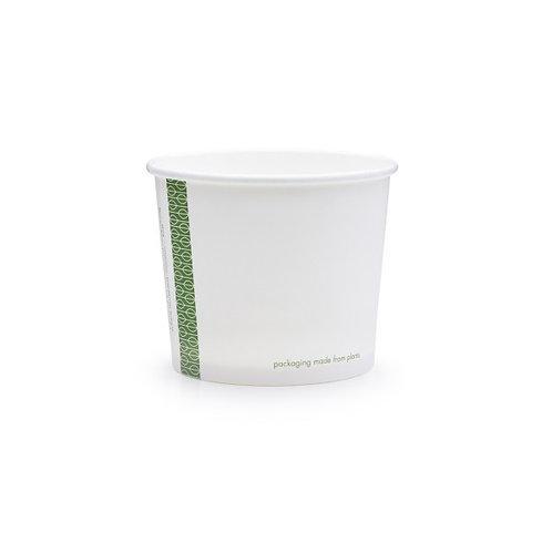 Pots carton DELI 10oz/300ml - cellulose/PLA ( U.V. 1000 )