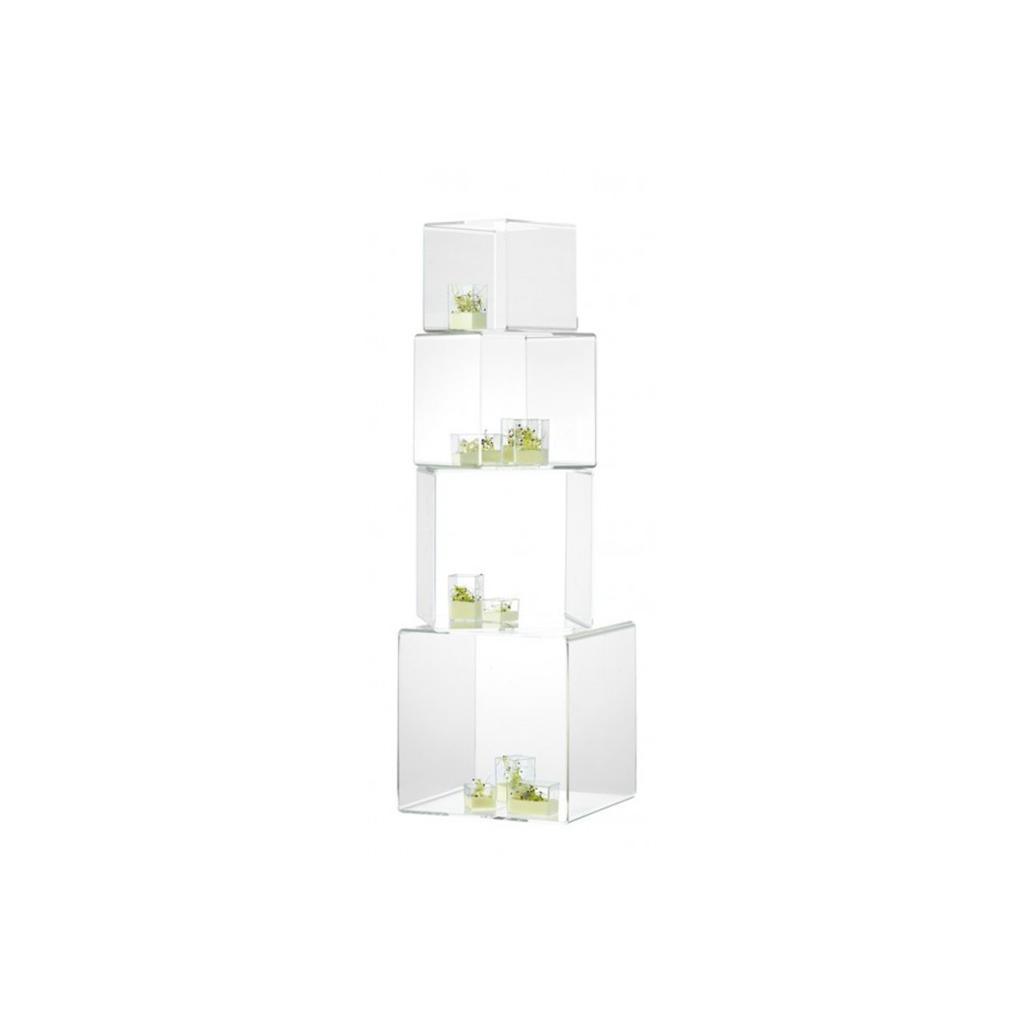 Set de 4 cube de présentation