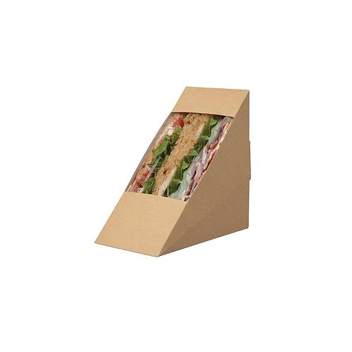 Club sandwich pack kraft SMALL ( U.V. 500pcs )