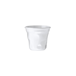 Tasse à café cabosse 15cl Blanc