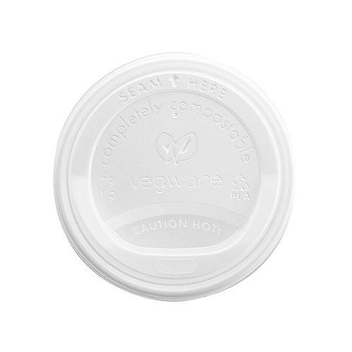 Couvercles CPLA pour gobelets à café 2dl ( U.V. 1 000)