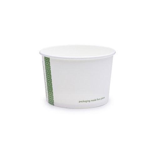 Pots carton DELI 8oz/240ml - cellulose/PLA ( U.V. 1000 )