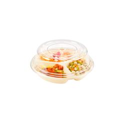 Cloche pour assiette plate 3 comp.