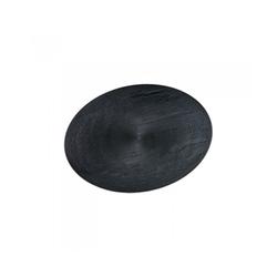 Assiette textura ovale 180x130mm