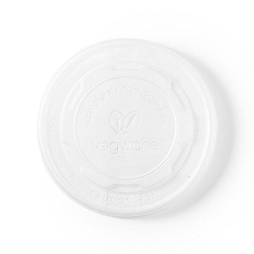 Couvercles CPLA pour DELI pots carton 12-32oz ( U.V. 500 )