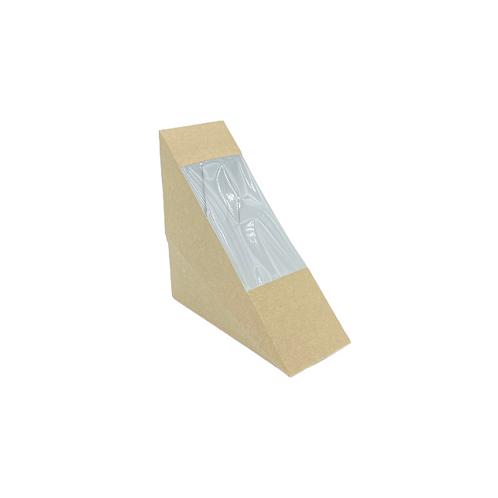 Sandwich pack kraft Small (U.V. 500pcs)