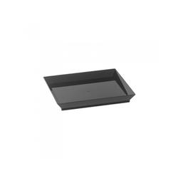 Assiette Cubik Noir 100x100mm