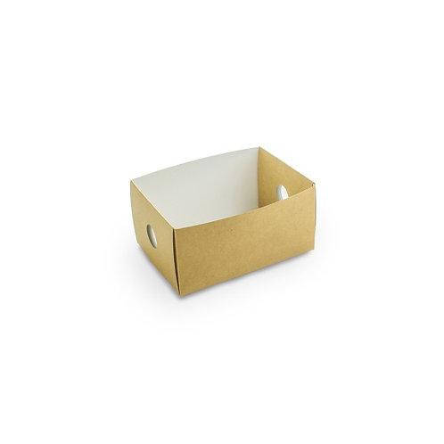 Insert tiroir 1/8 pour coffret kraft compostable ( U.V. 50pcs )