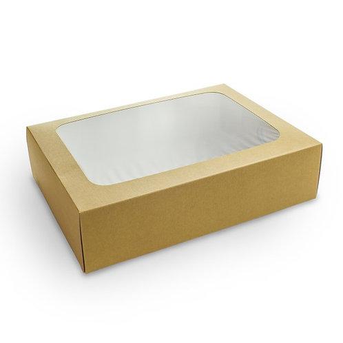 Coffret MEDIUM compostable avec tiroir et fenêtre ( U.V. 50pcs )