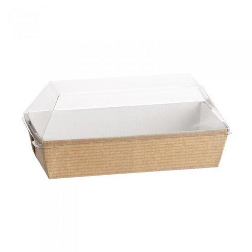 Assiettes Cubik naturel 65x130 (U.V. 200pcs)