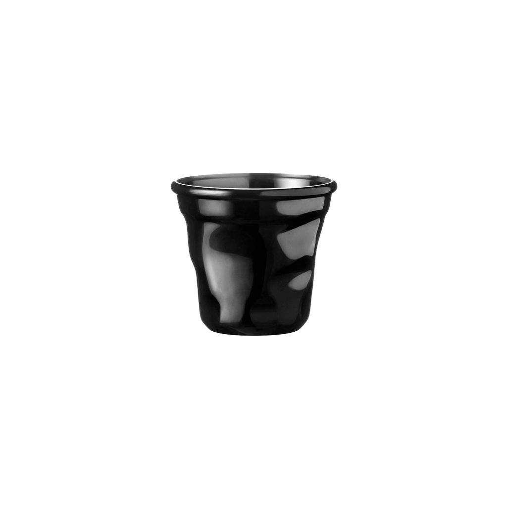 Tasse à café cabosse 15cl Noir