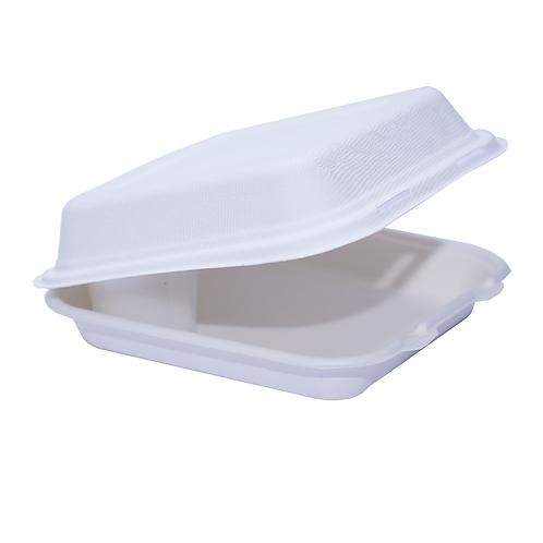 Lunch Box Bio bagasse 1500ml ( U.V. 300pcs )