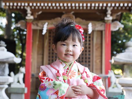 3歳女の子の七五三は、出張撮影¥3,000のNicoriで!
