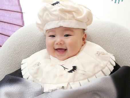 お宮参り・お食い初め・赤ちゃんの記念撮影なら