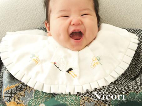 赤ちゃんのお写真撮ります!