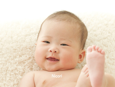 赤ちゃんのお写真はNicoriで!