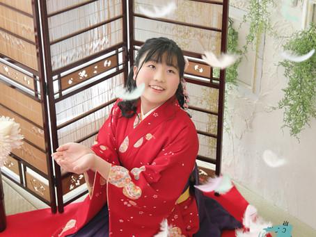 卒業・卒園の袴レンタル・着付け・ヘアメイクと記念撮影も!