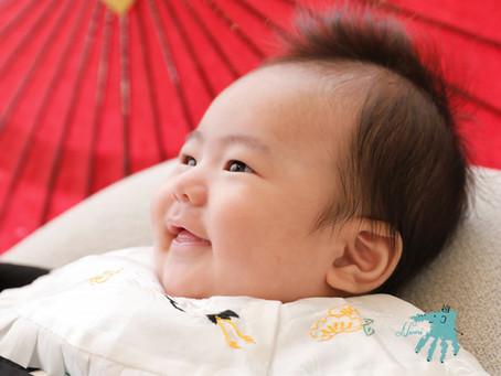お食い初め・お宮参り・赤ちゃんの可愛らしい写真を残そう!