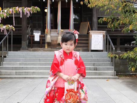世田谷区桜新町すぐ目の前!桜神宮出張撮影