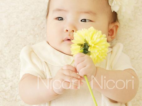 お宮参りのお写真なら、にこたま写真館Nicori