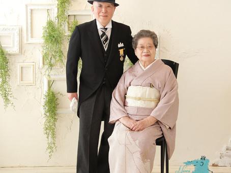 秋の叙勲 ご夫婦で記念撮影をしませんか?