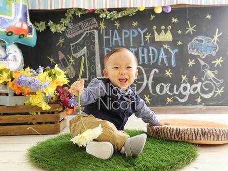 1歳誕生日に・・・わが子への最初のプレゼント