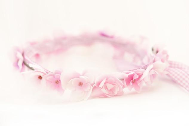 華奢な桜の花冠