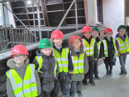 March 2020 Lister Infants enjoy a site visit