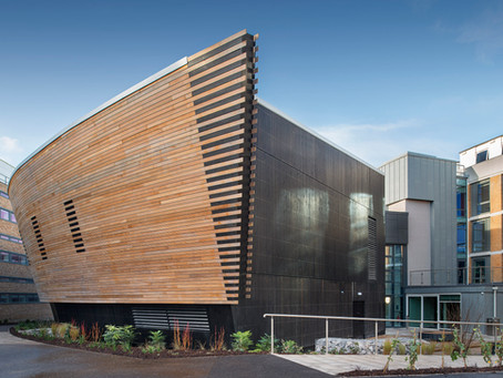 Dec 2020 The Margaret Fell Lecture Theatre at Lancaster University looks stunning
