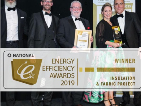 November 2019 Bradford Hospital wins the Insulation & Fabric Project of the Year.