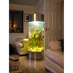 STAINLESS STEEL ACRYLIC COLUMN CYLINDER AQUARIUM