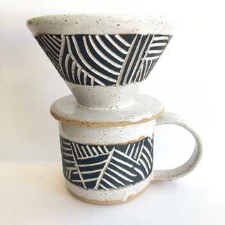 Student Mug & Pour Over