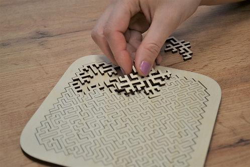 Logiq - drevené puzzle 25ks