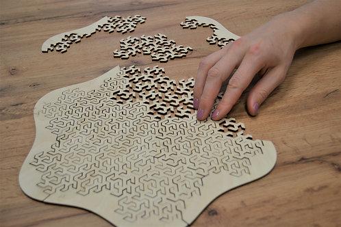 Logiq 2 - drevené puzzle 16ks