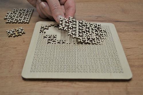Logiq - drevené puzzle 14ks