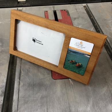 Photo Frame with Room Key Slot
