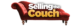 Selling The Couch logo representing a therapist podcast